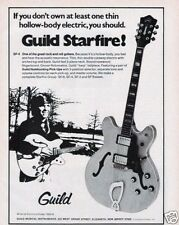 1974 Guild Starfire SF-4 Semi Acoustic Guitars Print Ad