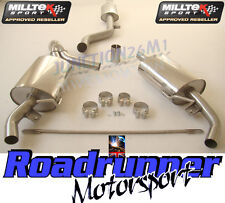 Milltek Cat Back Exhaust Clio 200 RS & CUP Stainless System Resonate EC SSXRN306