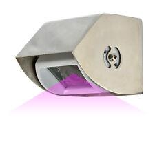 Edelstahl Gehäuse für Carmedien Rückfahrkamera IR18 Schutzdach Rückfahr Kamera