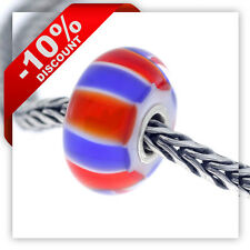 Genuine Trollbeads Glass - UK Colors - UK61105 - LIMITED EDITION RRP £25!!!