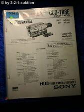 Sony Service Manual CCD TR8E Video 8 Camera Recorder (#5342)