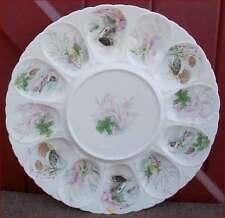 French Porcelain Oyster Platter Server Dish Limoges C Ahrenfeldt 1960