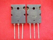 2SA1943 & 2SC5200 (A1943 & C5200) Toshiba Transisistors, Set of 10 pieces each!