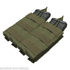 Condor MA19 Double Open Top 5.56 Mag Pouch - OD Green Tactical Rifle Pouch