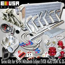 GT35 Turbo Kits for 90-99 Mitsubishi Eclipse GSX/GST Hatchback 2D 4G63 ONLY