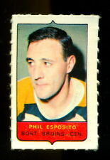 1969-70 OPC O-PEE-CHEE MINI 4 in 1 PHIL ESPOSITO NM BOSTON BRUINS STAMP Sticker