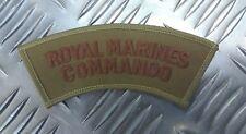 Genuine British Naval Issue RM 'ROYAL MARINES COMMANDO' Shoulder Patch - NEW