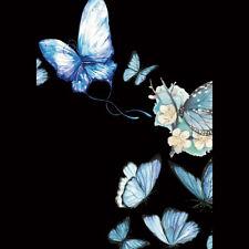 Flower Butterfly DIY Patch Iron On T-shirt Dress Heat Transfer Sticker Applique