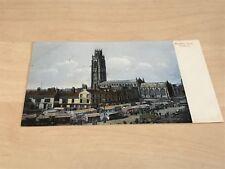 1911 Postcard Market Day, Boston