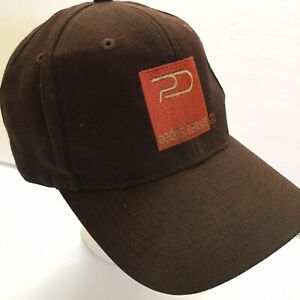 Otto Quality Headwear Pedus Service Brown Snapback Cap Hat Wool Acrylic TRUCKER