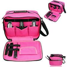 Hairdressing Tool Carry Hair Equipment Salon Storage Bag Case in Pink