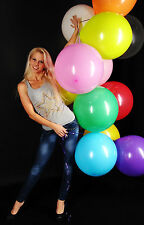 """10 great 48cm Ø (19"""") Balloons Colourful -- 10 x Balloon Colourful +!!! cattex!!!"""