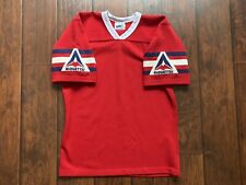 Vintage Montreal Alouettes Saxon CFL Canadian Jersey Size Medium Retro