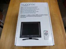 Sygonix 16885X1 LCD-Überwachungsmonitor 8 Zoll! 1024 x 768 Pixel! Neu & OVP!