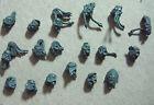 Space Wolves Heads x18 Space Marine Warhammer 40k
