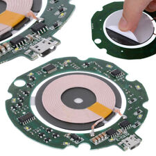 10W Qi Fast Wireless Charger Module PCBA Circuit Board + Coil Charging US STOCK