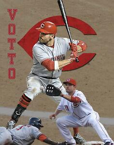 Cincinnati Reds Lithograph print of  Joey Votto 2020 11 x 14