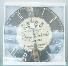 "Highland ""Chateau Vendange "" Floral decoration with a Pendulum Home decor Clock"