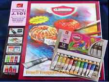 Sketchbooks Drawing & Painting Pad Paper Rough 150/Gsm (Free Tempera 12 Colour)