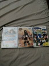 Sega Superstars Tennis,prince of Persia,family trainer extreme challenge