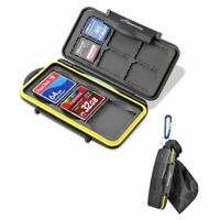 Beeway® Memory Card Case Holder Sd Sdhc Sdxc Compact Flash Cf Cards - Waterproof
