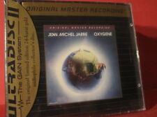 "MFSL-UDCD 613 JEAN MICHEL JARRE "" OXYGENE "" (24KARAT GOLD-CD/FACTORY SEALED)"