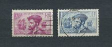 JACQUES CARTIER - 1934 YT 296 à 297 - TIMBRES OBL. / USED