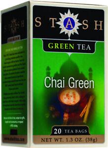 Premium Green Chai Tea by Stash, 20 tea bag