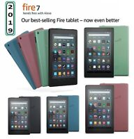 "Amazon Kindle Fire 7"" Tablet (9th Gen) 16GB Wi-Fi With Alexa Fire OS 2019 Model"