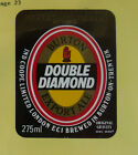 VINTAGE BRITISH BEER LABEL - IND COOPE BREWERY, DOUBLE DIAMOND EXPORT ALE 275 ML