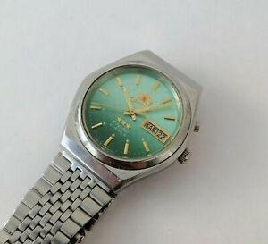 Wrist Watch Orient 3 Stars 21 Jewels Japan Automatic Vintage Original SERVICED
