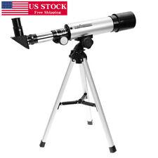 Astronomical Refractor Telescope Refractive Eyepieces Tripod For Kids Beginners