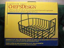 """CHEF'S DESIGN 16.5"""" WIRE ROASTER RACK/BASKET-KITCHEN-BAR-RESTAURANT-CAMPING!!!"""