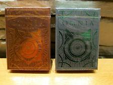 Omnia Perduta and Antica Playing Cards - 2 Decks Set -