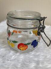 "Le Parfait ""Super"" Jar Made in France~Fruit Pattern"