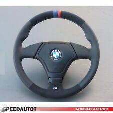 Lederlenkrad BMW E34 E36 E39 Z3 mit Airbag NEU LEDERRBEZUG mit ALCANTARA!!!