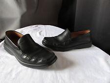 Mocassin Geox Black Leather 43