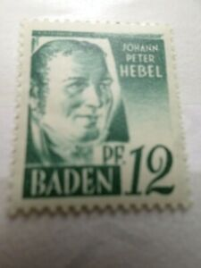 FRANCE 1947 OCCUPATION ALLEMAGNE BADE, timbre n° 4, neuf**, VF STAMP