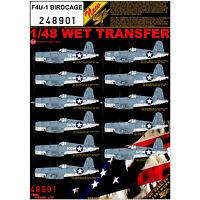 HGW 1/48 scale wet transfers for F4U-1 Birdcage kits - 248901