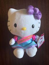 Rare 2014 Stuffed Sanrio Hello Kitty Small Plush Indian Sari Dress Blip Toys