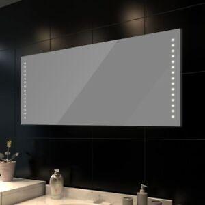 Specchio da bagno con luci led varie misure