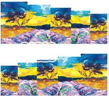 Nail Art Decals Transfers Stickers Tripping Landscape (A-1021)