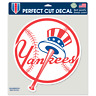 "New York Yankees 8"" x 8"" Top Hat Logo Truck Car Window Die Cut Decal Color New"