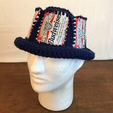 Budweiser Boonie Bush Hand Made Knit & Aluminum Cap Hat CH11