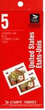 1991 Fruit Tree Definitive - McIntosh  Apple BK142b booklet of 5 complete