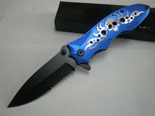 """""""Hell ghost"""" sharp assistant survival camping hunting pocket knife E169-B knives"""