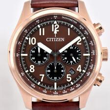 Auth CITIZEN B620-S086213 ECO-DRIVE Chronograph Men's Watch K#72677