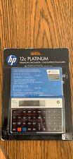 hp 12c platinum financial calculator. Free Shipping
