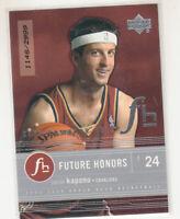 JASON KAPONO 2003-04 Upper Deck Honor Roll Future Honors #97 Rookie RC 1148/2999