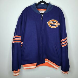 Throwback Jackets Mitchell & Ness NFL Chicago Bears Jacket